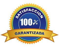 100% satisfaccion garantizada