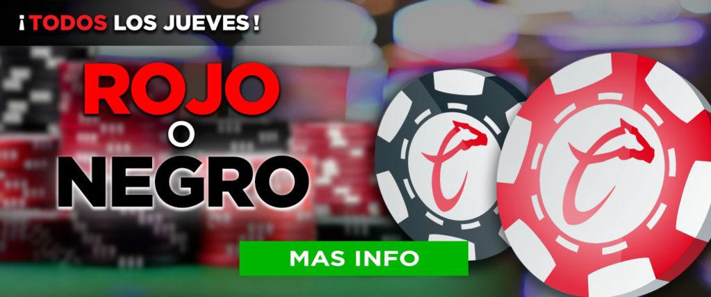 caliente casino promociones - rojo o negro, todos los viernes