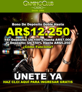 Gaming Club Casino Online - Bonos