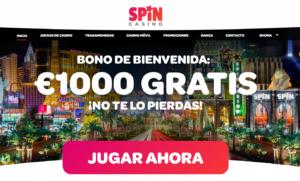Spin Casino - Bonos