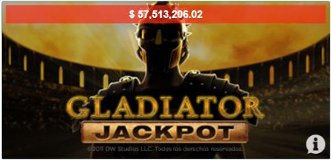 Gladiator Jackpot tragamonedas Casino Caliente