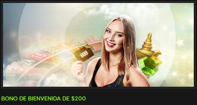 888 casino online - bono de 200$