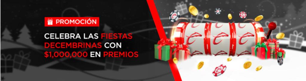 caliente casino - celebra las fiestas decembrinas con 1,000,000$ en premios