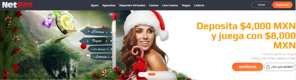 netbet casino - deposita 4000$mxn y juga con 8000$mxn