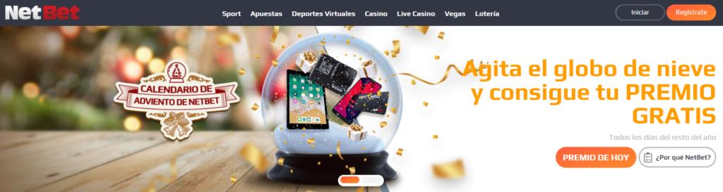 netbet casino - agita el globo y consegui tu premio gratis