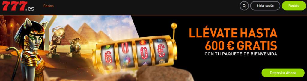 Casinos Online de USA en Español 777 Casino