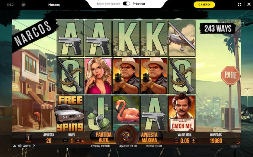 tragamonedas narcos - 888 casino