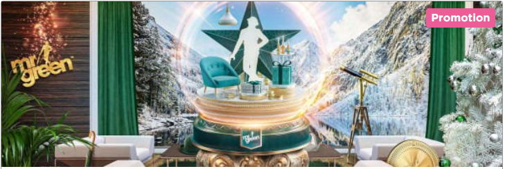 Tus Promociones de Navidad 2019 en Mr. Green