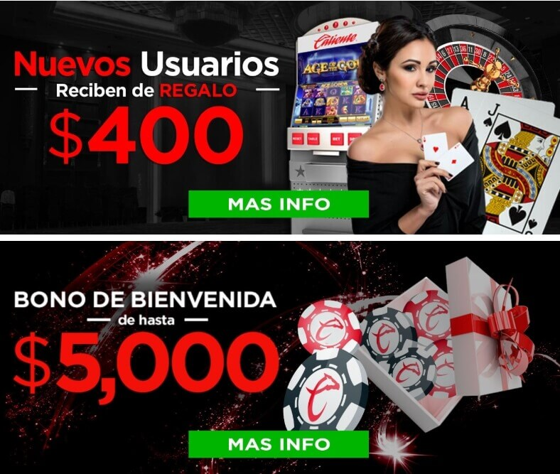 casino caliente - 400$mxn sin deposito ya!