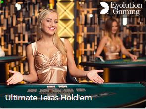 Mr Green - ultimate texas hold`em