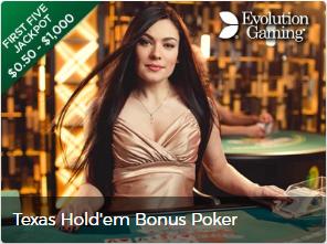 Mr. Green - bono para texas hold`em poker
