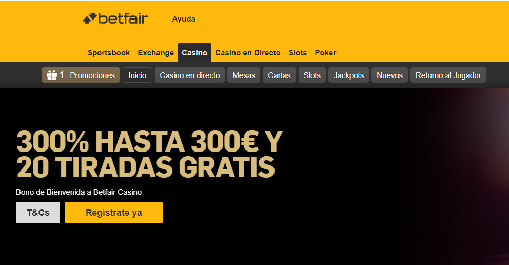 Paysafecard Casinos - Betfair casino