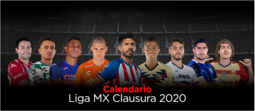 bet caliente - calendario liga mx clausura 2020