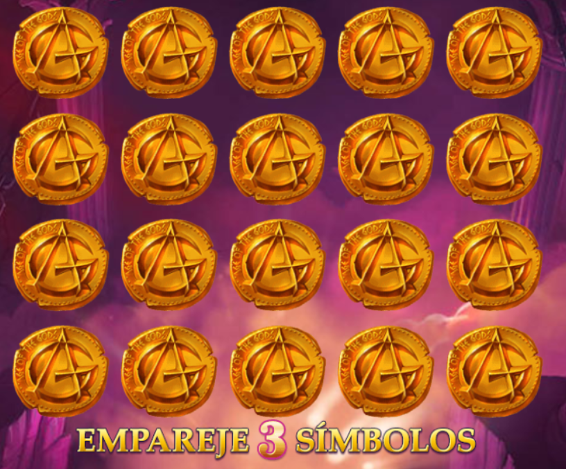 age of the gods - empareje 3 simbolos